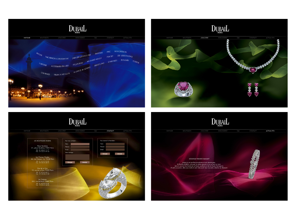Dubail Design site web