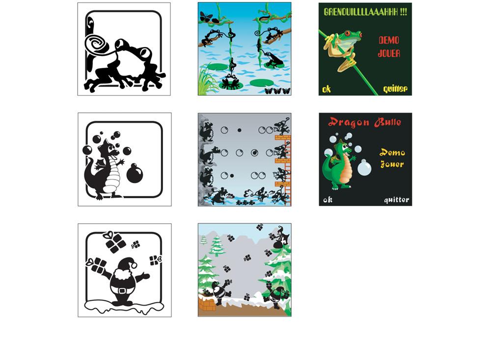 Lucidgame illustrations jeux-videos