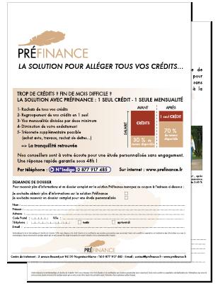 Préfinance-leaflet