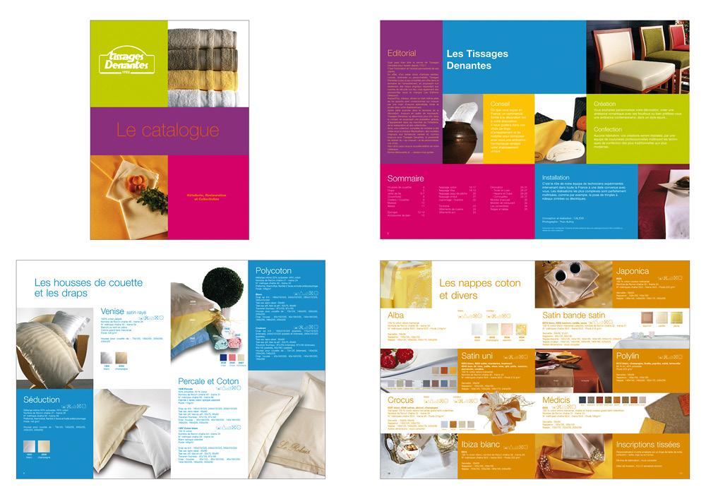 Catalogue Tissages Denantes