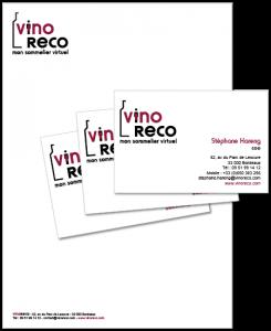 Vinoreco logo charte graphique